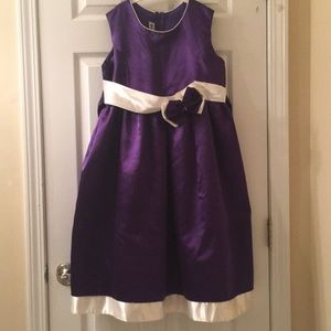 Other - purple and white dress